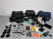 YASHICA TL ELECTRO X 35MM SLR, NIKON D70, EQUIPMENT LOT